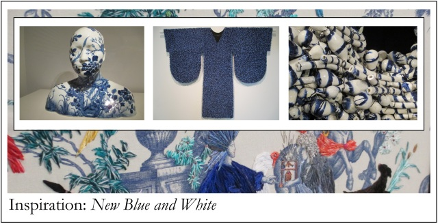 inspiration: new blue and white